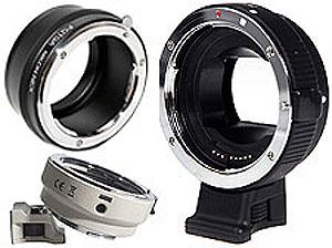Переходные кольца для установки объективов