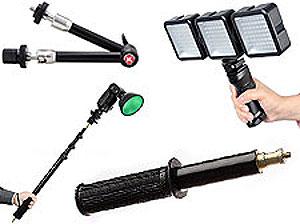 Фотоштанги, держатели и ручки
