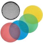 Соты Godox AD-S12 с набором цветных фильтров Godox AD-S11
