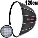 Параболический октобокс Jinbei KE-120 Deep Quick Open 120см+соты
