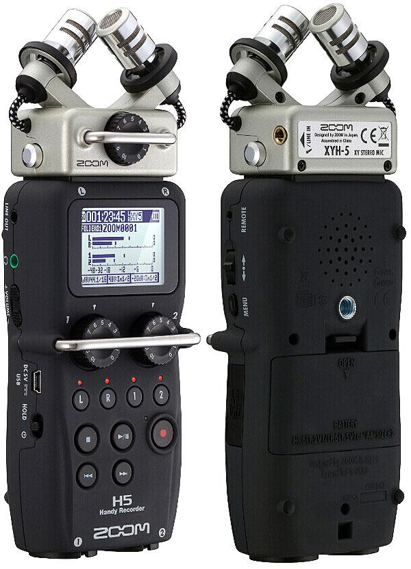 Портативный рекордер (портастудия) Zoom H5