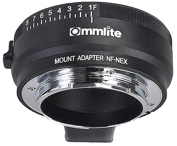 Переходное кольцо Nikon на Sony (Commlite CM-NF-NEX)