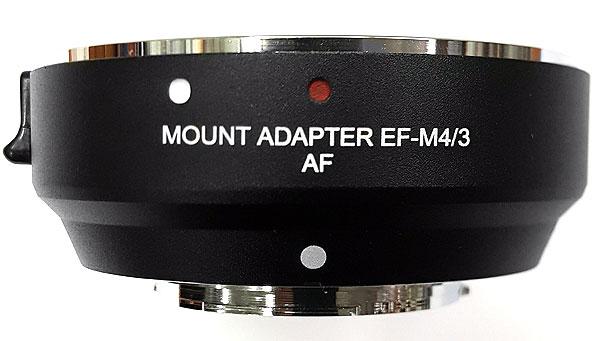 Адаптер АвтоФокус Canon EF - Micro 4/3 (EF-MFT) AF