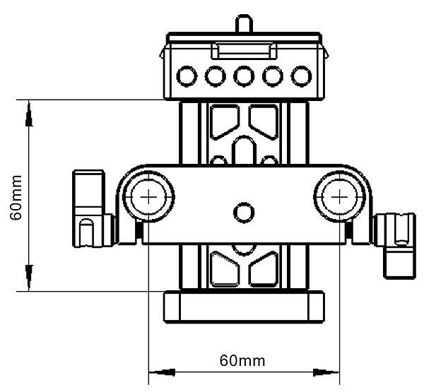 Штативная площадка SmallRig Rail Support Baseplate (Arca Swiss)