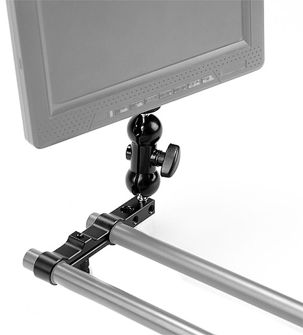 SmallRig Double Ball Head Rail Clamp Mount 1268