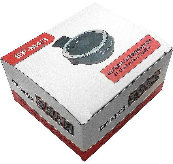 Адаптер Canon EF - Micro 4/3 (EF-MFT)