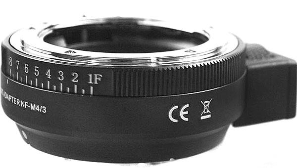 Адаптер Nikon F на Micro 4/3 (NF-MFT)