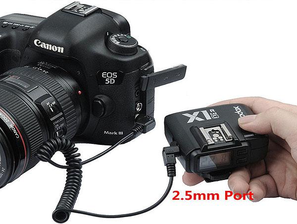 Радиосинхронизатор Godox X1-C для Canon