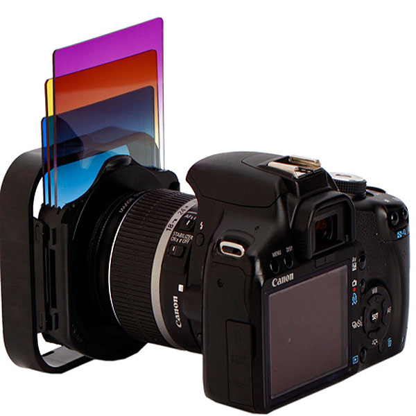 Как сделать красный фильтр на фото