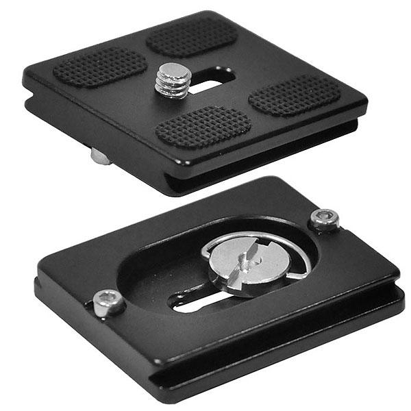 Быстросъемная площадка PU-50 - для быстрой и точной установки дополнительного фотооборудования на штатив, головку или другие основания