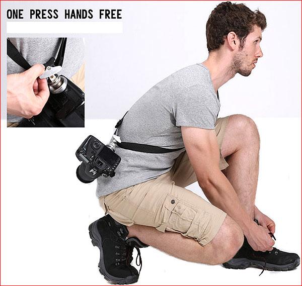 Плечевой ремень FOTOSPEED FS-2