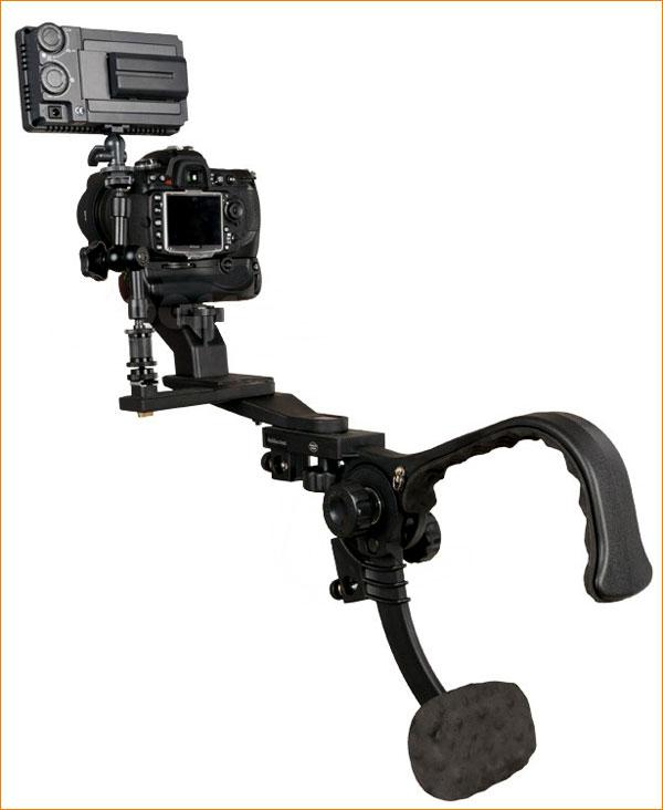 Falcon eyes sh-p pro позволяет исключить или сильно уменьшить тряску при фото- и видеосъемке с рук