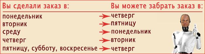 Как можно забрать заказ из пункта самовывоза Pixelur.ru